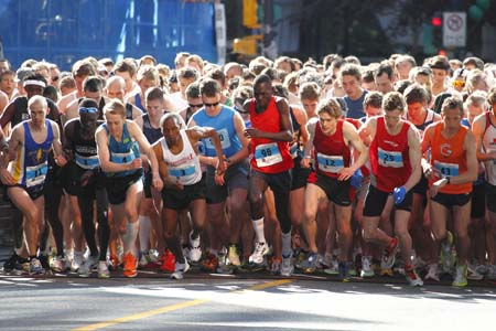 vancouver sun  run training